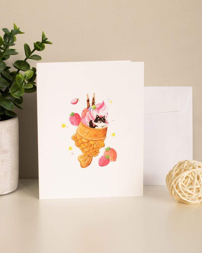 Shop SUKOSHI x PENELOPE Delicious Taiyaki Greeting Card