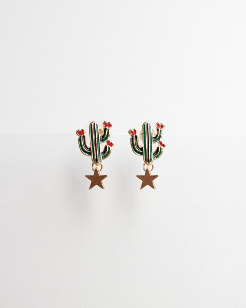 Shop Summer Cactus Earrings