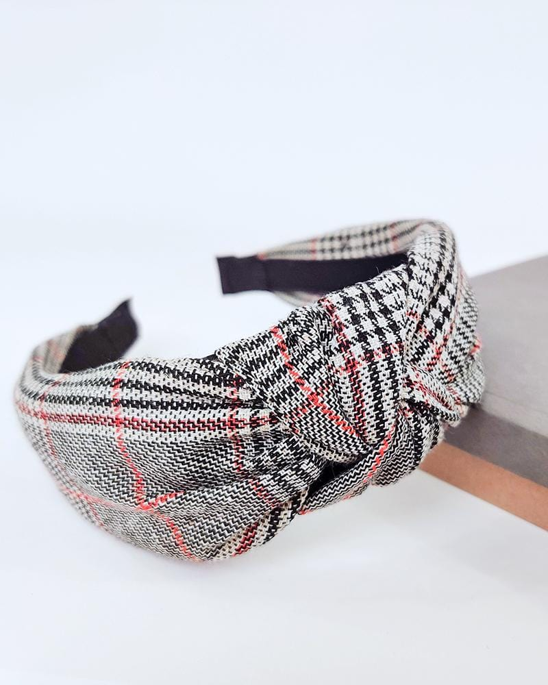 Tartan Plaid Headband