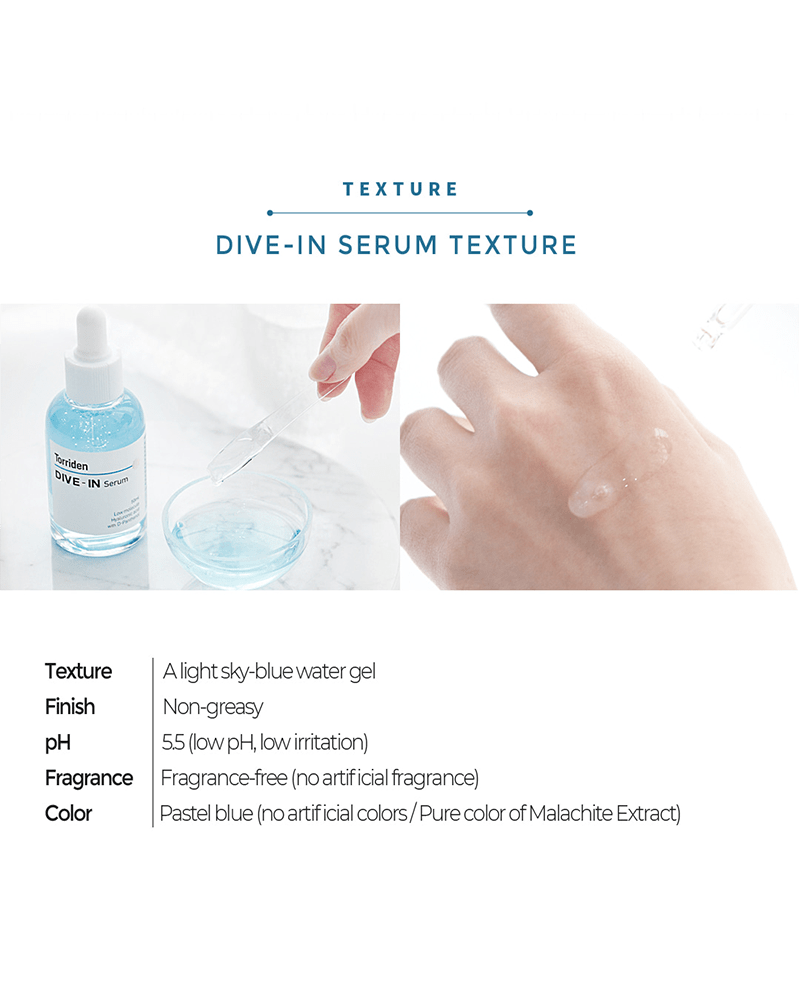 Torriden DIVE-IN Low Molecule Hyaluronic Acid Serum