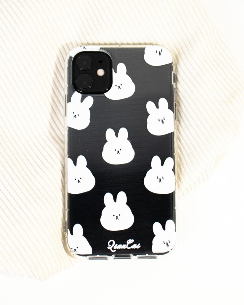 Shop White Bunny iPhone Clear Cases