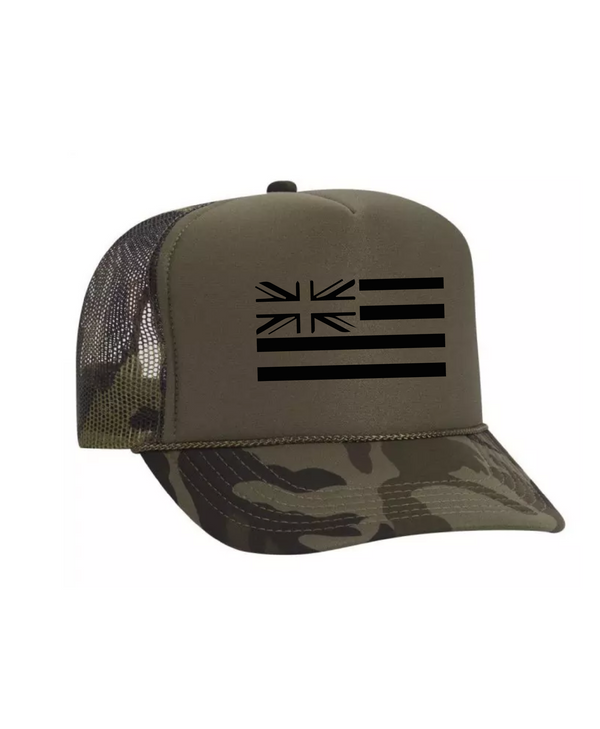 Hae Hawaii Camo Trucker Hat