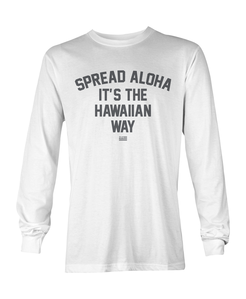 Spread Aloha Long Sleeve T-Shirt