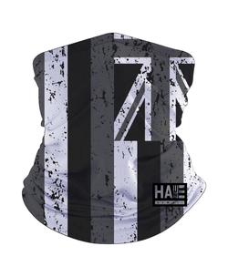 Black and White Hae Hawaii Gaiter Mask
