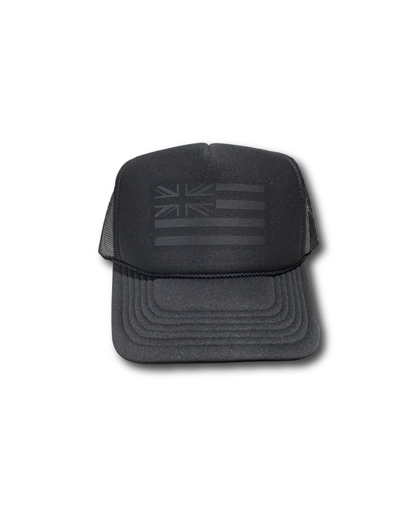 Black on Black Hae Hawaii Trucker Hat