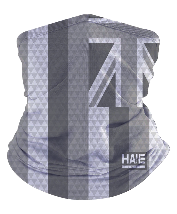 Gray Triangles Hae Hawaii Gaiter Mask