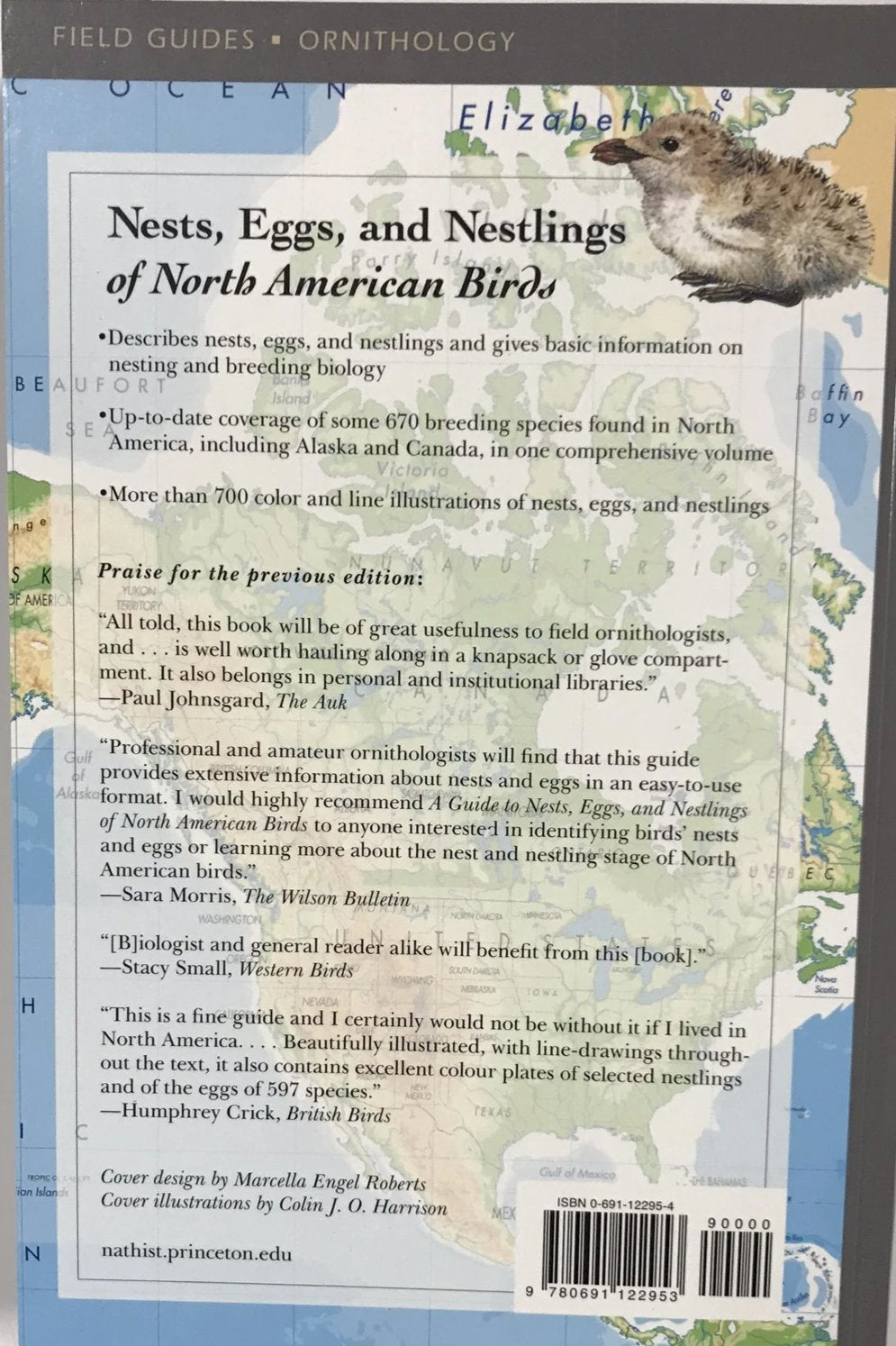 Eggs and Nestlings of North American Birds Nests Second Edition
