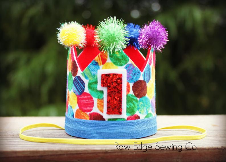 Circus Birthday Crown