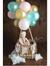 Hot Air Balloon Highchair Banner 1st Birthday Party Decoration