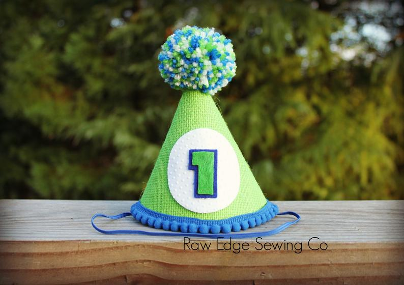 Golf Hat First Birthday - Raw Edge Sewing Co