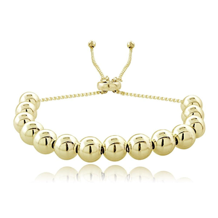 Gold Ball Bead Bracelet