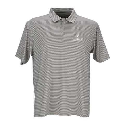 Vansport™ Pro Tonal Micro-Stripe Polo