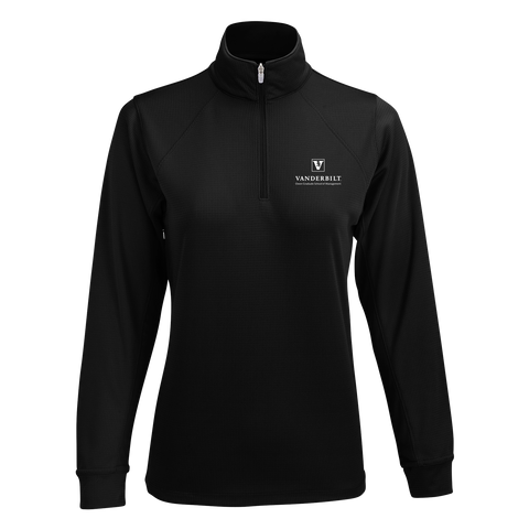Women's Vansport™ Mesh 1/4-Zip Tech Pullover