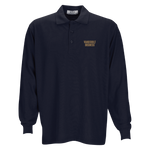 Long Sleeve Soft-Blend Double-Tuck Pique Polo