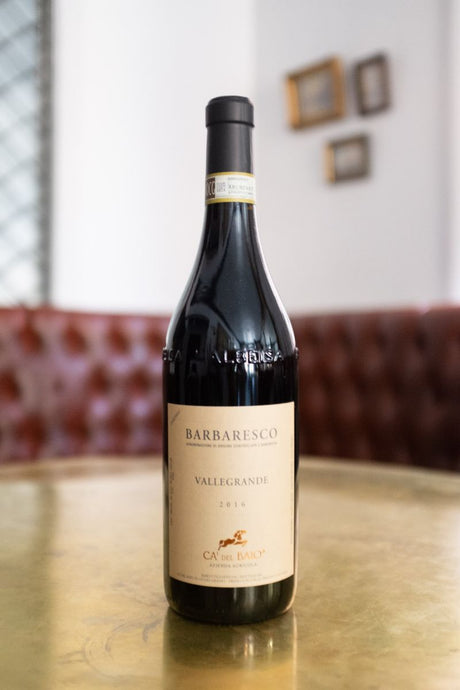The Barbaresco DOCG is an elegant and powerful red wine.
