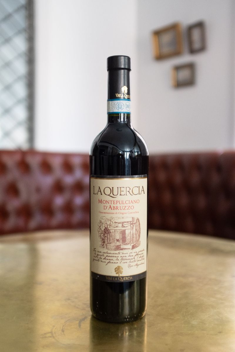 La Quercia Montepulciano is a full body and jammy, a North & Navy staff go to!