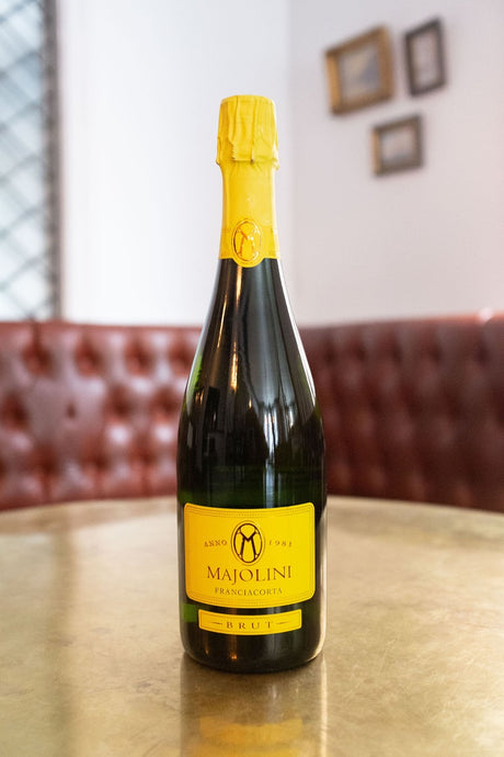The Majolini Franciacorta Brut bubbly is a staff favourite! It is one of the best-kept secrets among Champagne lovers.