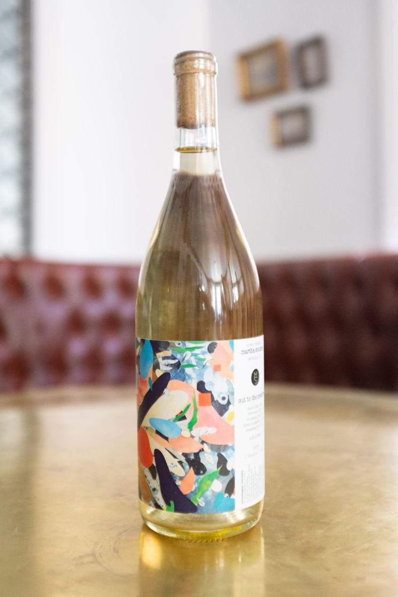 Martha Stoumen Out of the Meadow. Organic, mineral, a field blend in homage to the Californian wine history.
