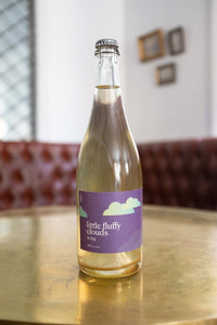 Trail Estate Little Fluffy Clouds is hand-harvested on the shores of Lake Ontario in Prince Edward County.