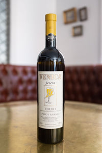 Venica Pinot Grigio. Dry, rich aromas of acacia flowers with a well-balanced acidity.