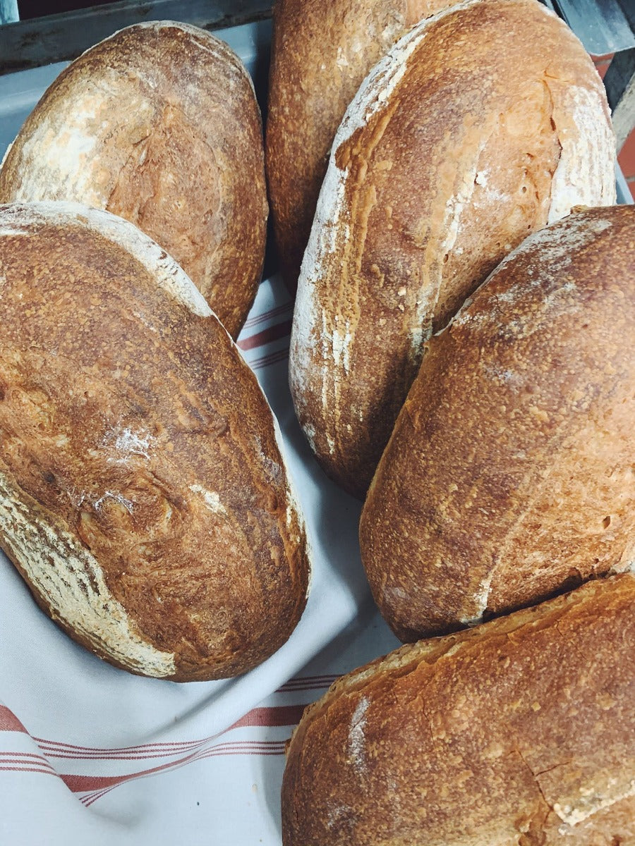 Fresh baked bread from North & Navy. Bring home and enjoy with our take home kits.