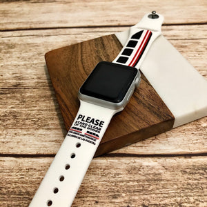 Monorail Printed Band for Apple Watch