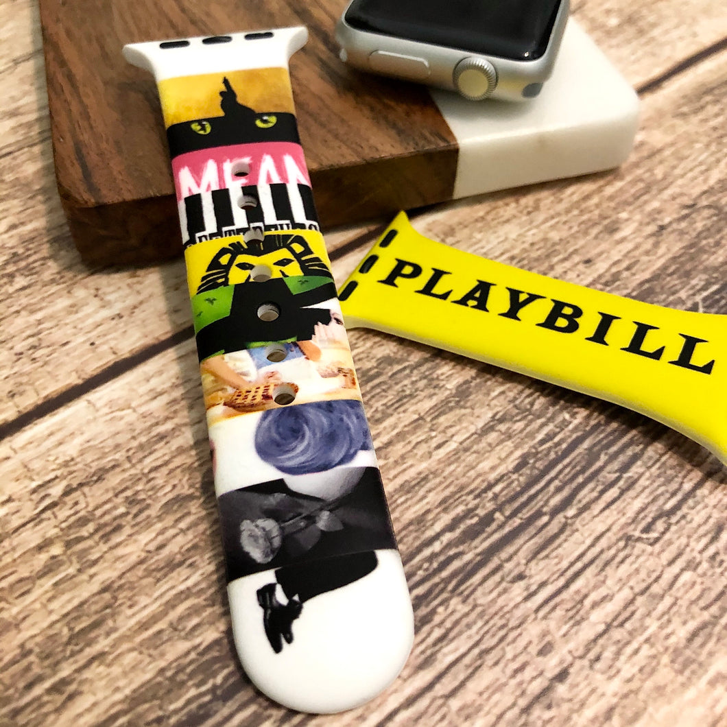 Playbill Printed Band for Apple Watch