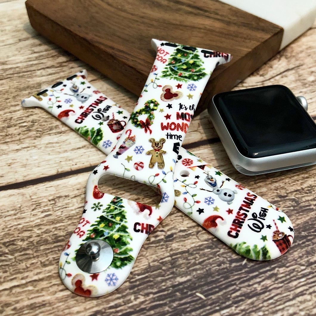 DisXmas Printed Band for Apple Watch