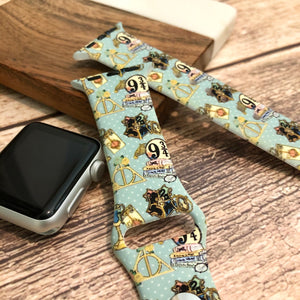 Vintage HP Printed Band for Apple Watch