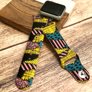 Sally Dress Printed Band for Apple Watch