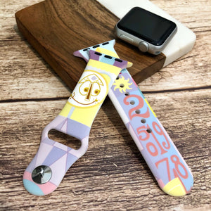 Small World Printed Band for Apple Watch