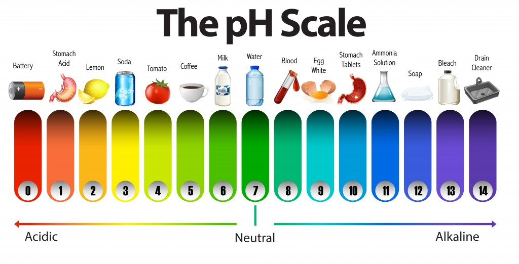 pH Scale what is pH how to measure pH pool aquarium spa lab