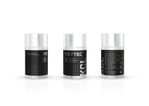 KCL Storage Solution PH/ORP - Meytec® Set (5x60ml)
