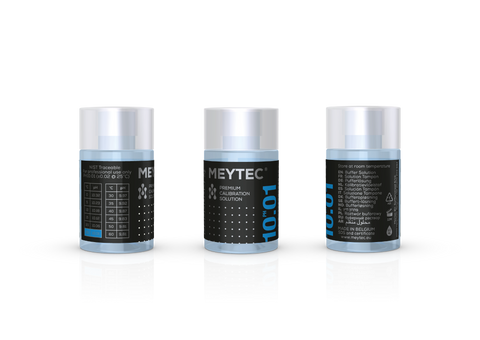 Solution Tampon PH 10.01 - Meytec® Kit (5x60ml)