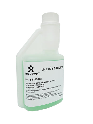 Meytec® Buffer Solution PH 7.00 - N.I.S.T. Certified - meterdiscount.eu
