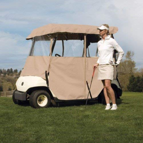 Classic Accessories Fairway Golf Cart Enclosure Deluxe 4-Sided