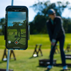 Golf Swing Recorder Holder Cell Phone Clip