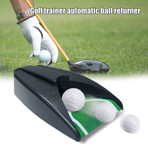 Newly Golf Automatic Putting Cup Portable Ball Return Practice Training Aid Device Gifts