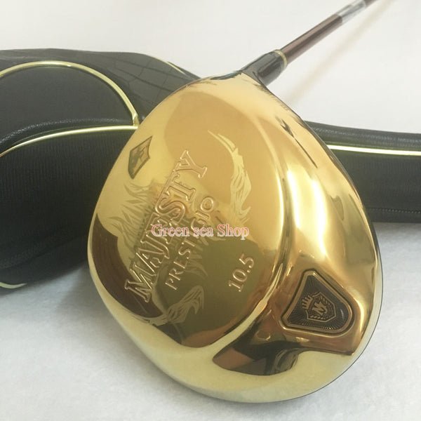 New Golf clubs  Maruman Majesty Prestigio 9 clubs driver 9.5 10.5  loft Golf driver Graphite Golf shaft R S flex Free shipping