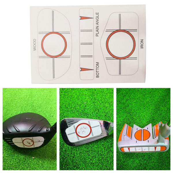 10pcs Golf Club Target LabelS