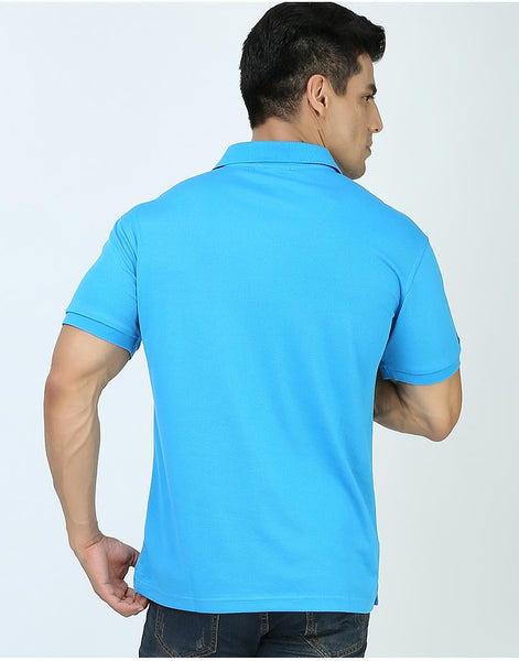 FANNAI Mens Polyester / Cotton Golf Shirt