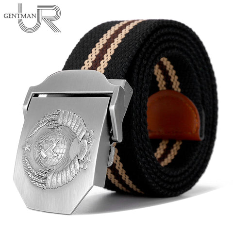 New Men & Women High Quality Belt 3D Soviet