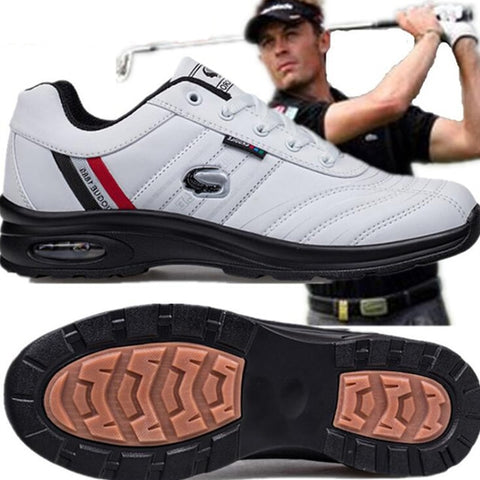 New Men's Golf Shoe Water-Proof