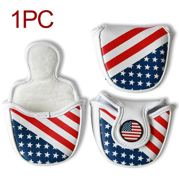 Flag Style Putter Cover
