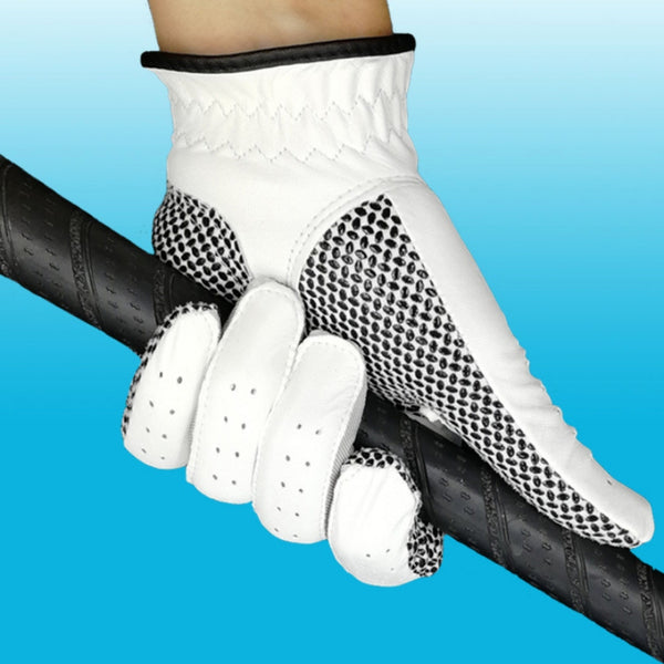 Men\'s Golf Sheepskin Glove W/Anti-slip Granules