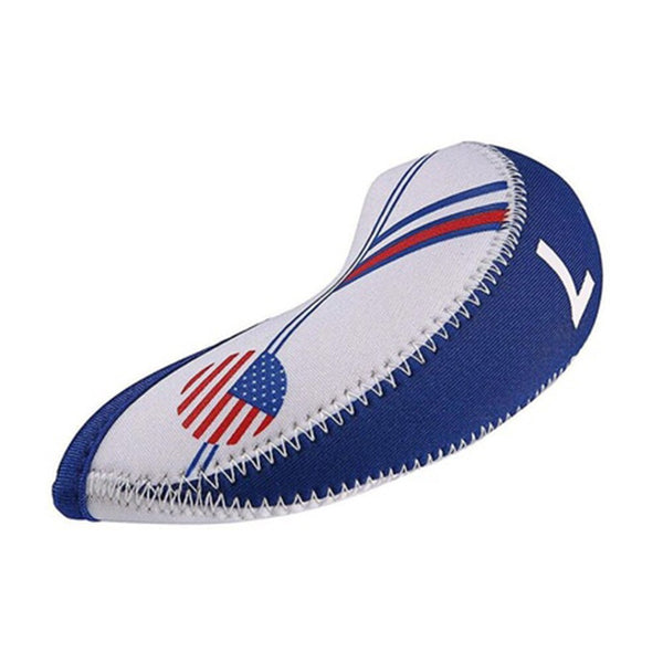 New 10 pcs USA Golf Clubs Covers