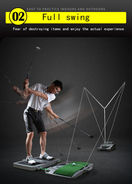 PGM Patent Y-type Swing Trainer Coach Recommended Men Women Practice Golf Clubs Adjustable Distance 4m~16m Automatic Return Ball