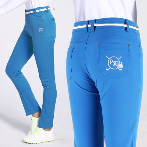 Women Golf Full Length Pants