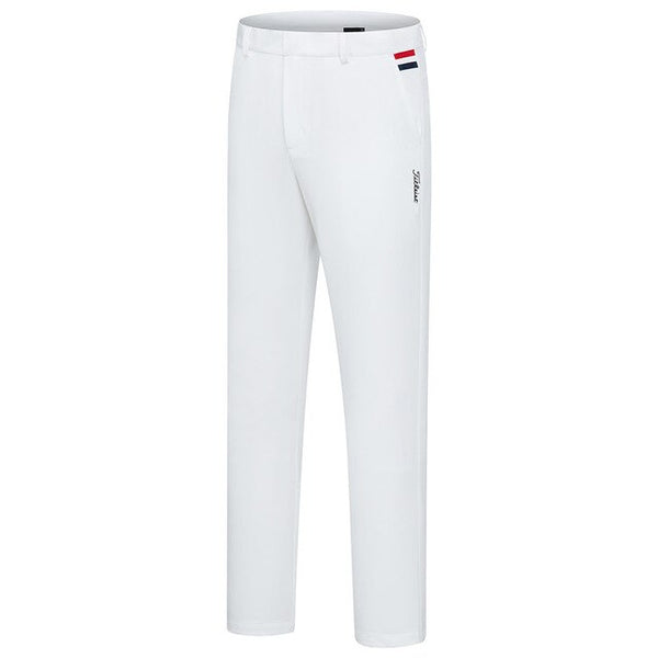 Men's Thick Fabric Golf Pants