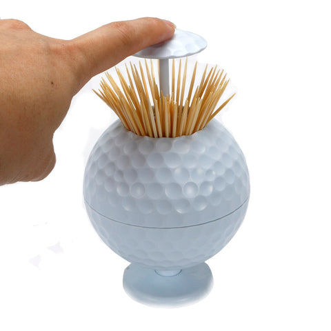 Golf Ball Toothpick Holder